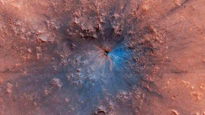 Un estudio en Marte sugiere que el agua ha estado en los planetas rocosos desde el principio