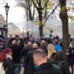 Disturbios en Berlín por las nuevas restricciones de la pandemia