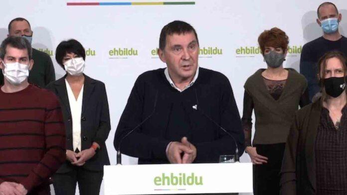 Otegi: 'Estamos hablando de un tema político'