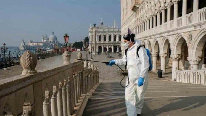 Casi 1.000 muertos en Italia por coronavirus en el último día