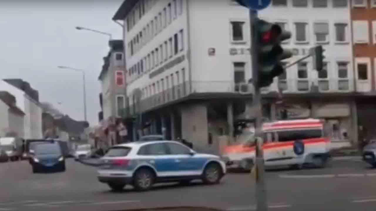 Cinco muertos y quince de heridos en un atropello masivo en Alemania