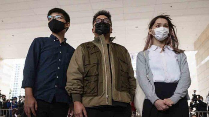 El activista de Hong Kong Joshua Wong encarcelado durante 13 meses por protestar