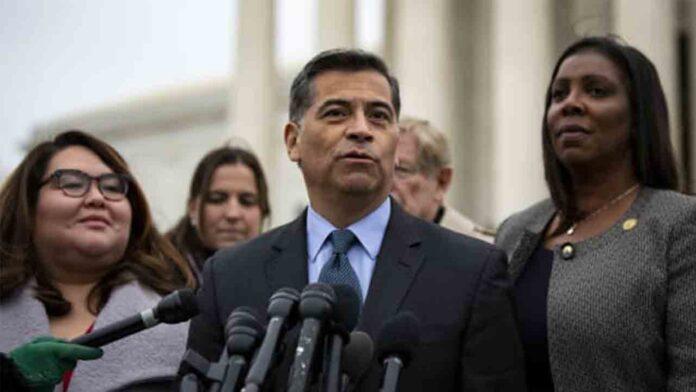 El fiscal general de California, Xavier Becerra, será secretario de salud de EE.UU.