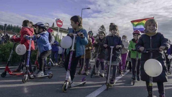 Gran movilización para defender los derechos de los presos vascos