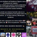 El movimiento de residencias de Catalunya sigue en pie de guerra