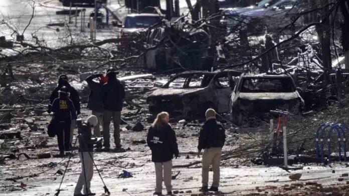 Identifican el cuerpo del presunto responsable de la explosión de Nashville
