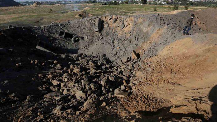 Israel lanza ataques aéreos en la Franja de Gaza