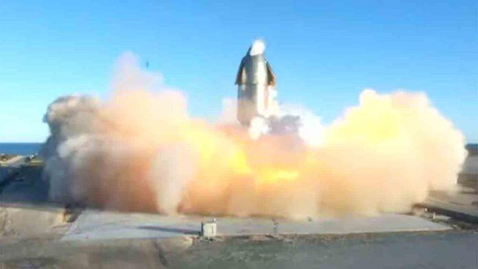 Se incendia el cohete interplanetario de Space X al aterrizar