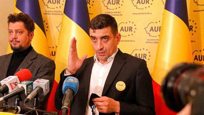 Un partido de extrema derecha en Rumanía apareció de la nada