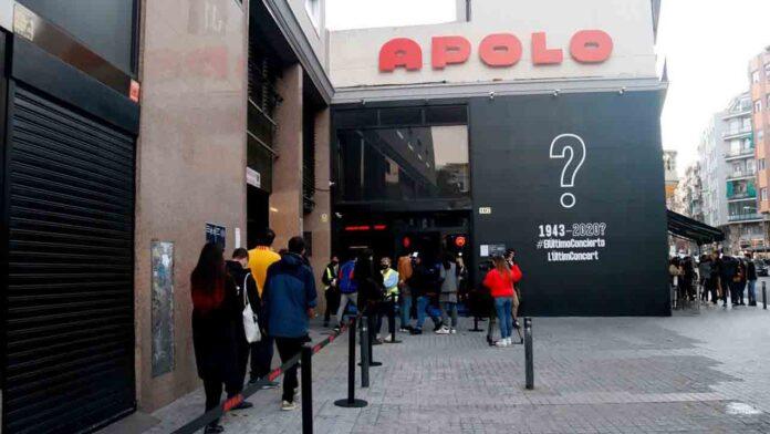 Vuelve a abrir la Sala Apolo de Barcelona, con el concierto experimental que se suspendió