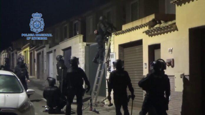 17 detenidos del 'Clan del Tinte' en un operativo contra el narcotráfico en el Campo de Gibraltar