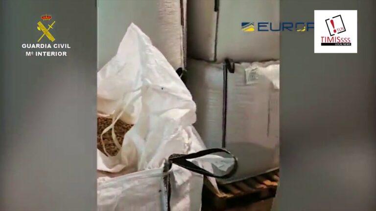 Una trama empresarial vendía falsos pistachos ecológicos en España y Francia
