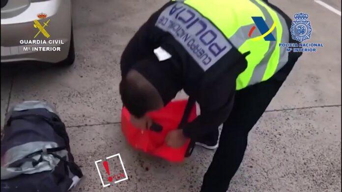 268 kilos de cocaína incautada en Lanzarote
