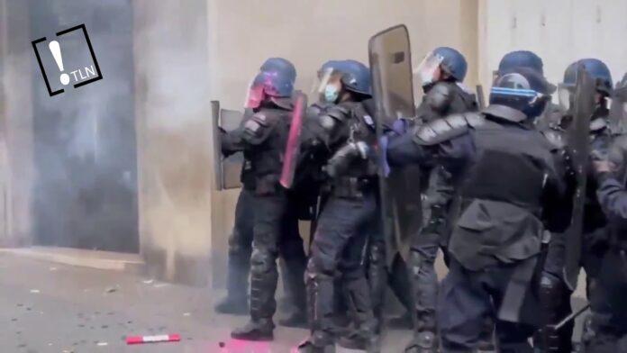 Fuertes disturbios en París contra la violencia policial