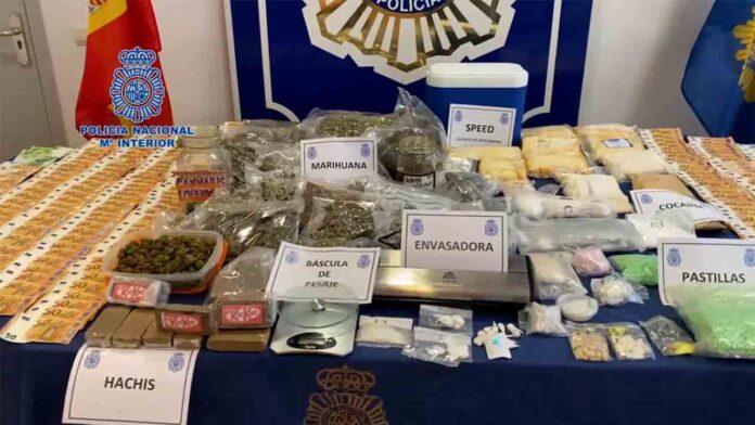 25 detenidos en Navarra con 28 kilos de estupefacientes intervenidos