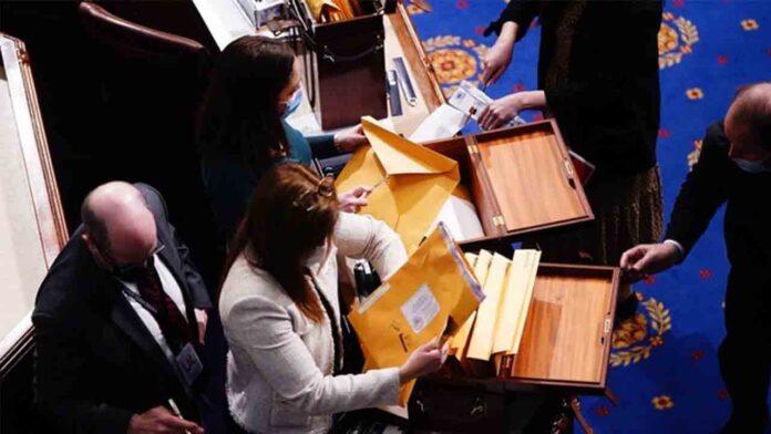 Biden, ratificado presidente electo de EE.UU. tras el asalto al Capitolio