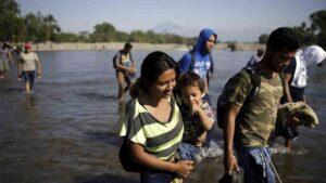 Caravana de los condenados en Honduras
