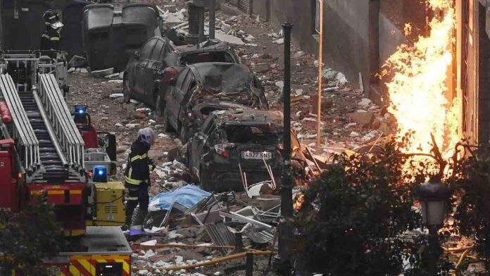 Cuatro muertos y varios heridos por la explosión en Puerta de Toledo