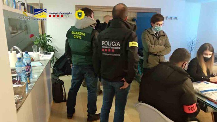 Detenidas seis personas en Andorra por una estaba en inversiones