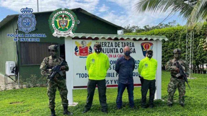 Detenido un fugitivo colombiano buscado por narcotráfico