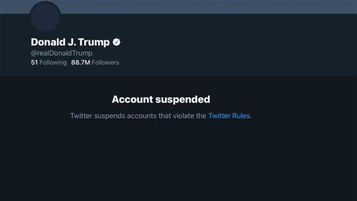 Twitter bloquea definitivamente a Trump