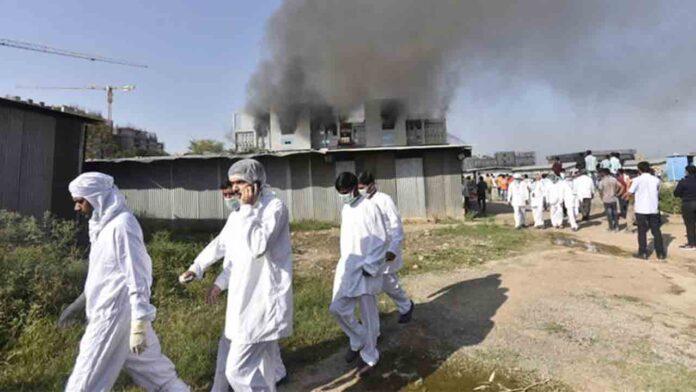 Un incendio en la fábrica de la vacuna AstraZeneca deja cinco muertos