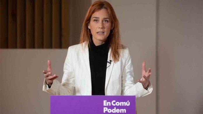 Ada Colau: 'Solo los comuns pueden lograr un Govern de izquierdas'