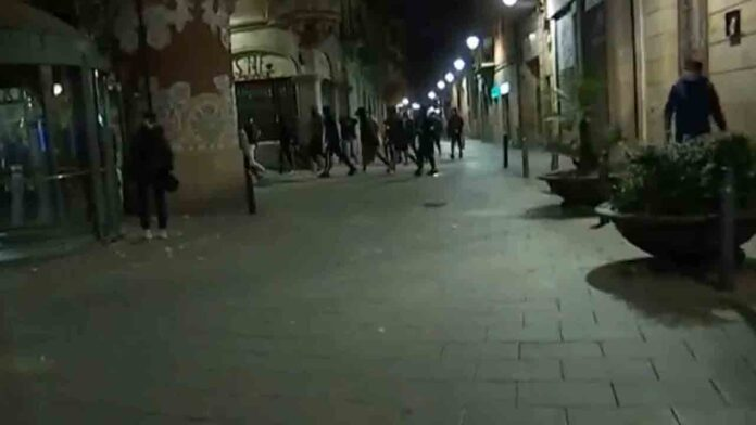 Ataque a la fachada histórica del Palau de la Música en Barcelona