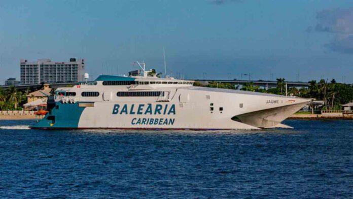 Baleària volverá a navegar entre EE.UU. y Bahamas el 10 de febrero