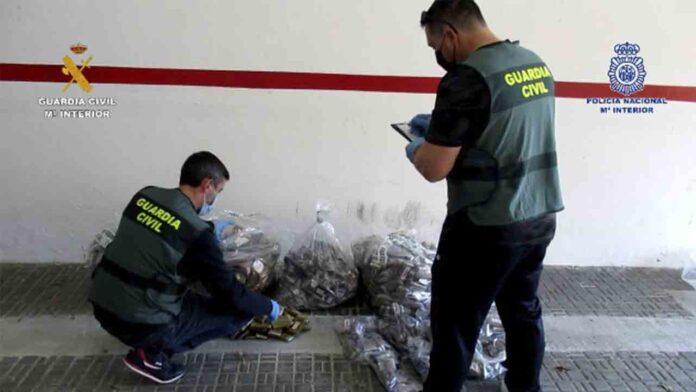 Desarticulado un grupo dedicado al tráfico de drogas y tráfico de migrantes desde Melilla a la península