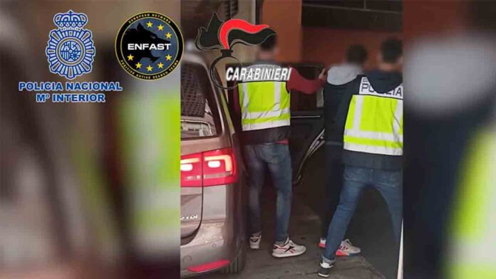Detenido en Benidorm un italiano dedicado al robo con fuerza con explosivos