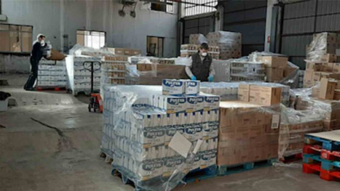 El Gobierno distribuye 31 millones de kilos de alimentos a los más desfavorecidos