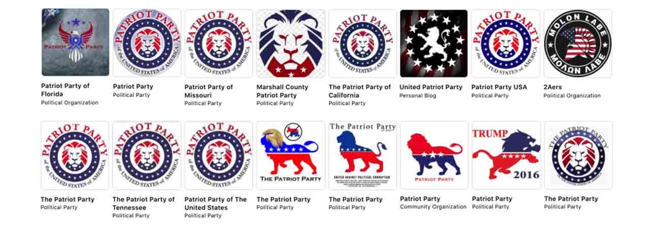 Facebook es el hogar del movimiento militante 'Partido Patriota' de ultraderecha