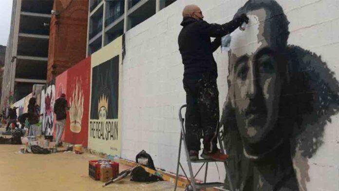 Franco, el emérito y Felipe VI, sustituirán el grafiti borrado en Barcelona