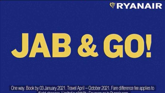La campaña de Ryanair 'vacúnate y vuela' prohibida en el Reino Unido