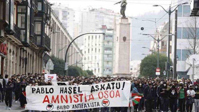 Manifestación este domingo en Bilbao en apoyo a Hasel