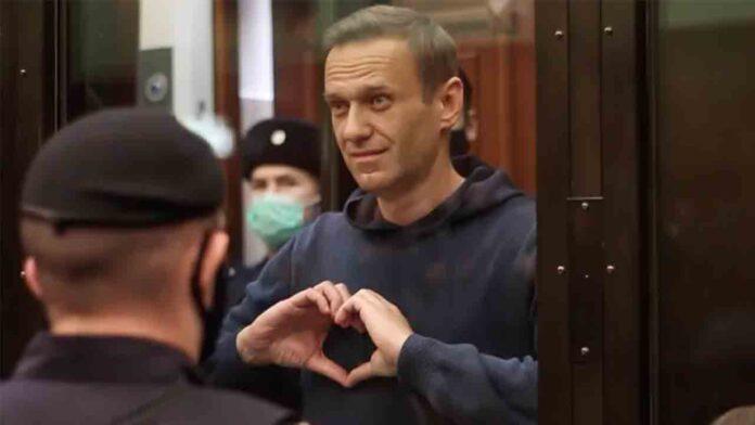 Navalny ha sido condenado a tres años y medio de prisión