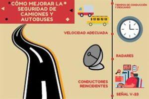 Sigue al alza los conductores profesionales que exceden los tiempos de conducción