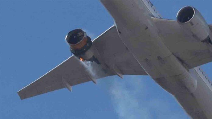 Un avión consigue aterrizar con 241 personas tras explotarle un motor en pleno vuelo