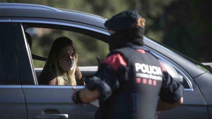 Catalunya permite el desplazamiento comarcal entre convivientes