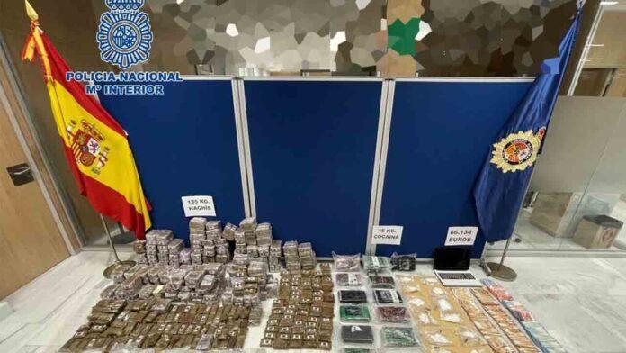 Desarticulado un importante grupo de venta de cocaína en Cádiz
