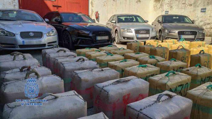Desmantelado un grupo que introducía grandes cantidades de hachís en Francia y Portugal