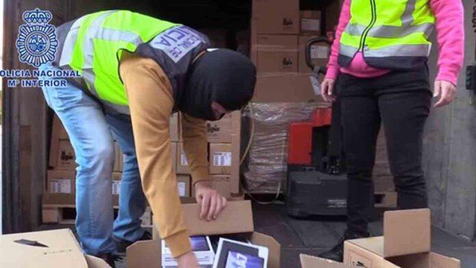 'El Troll' roba un camión con móviles valorado en 4 millones