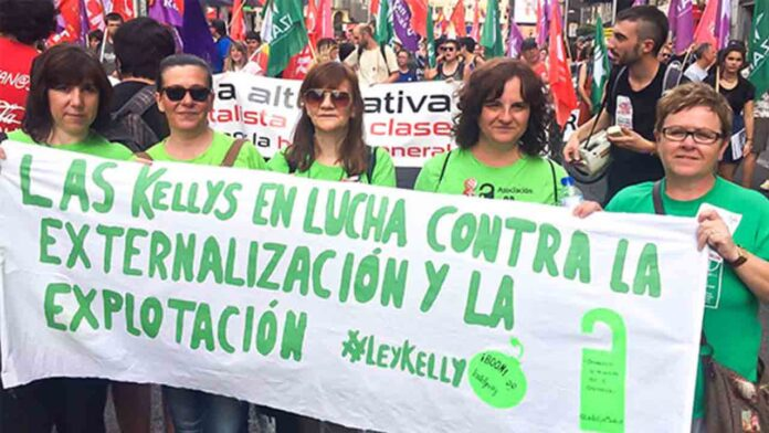 El problema de las Kellys en Baleares