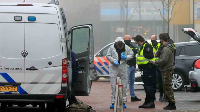 Explota una bomba en un centro de pruebas de Covid en Amsterdam