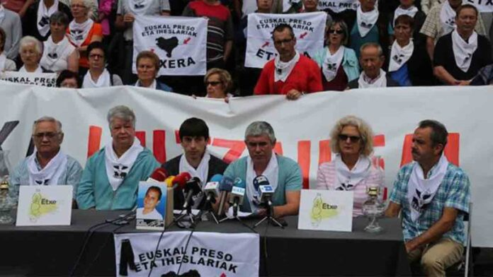 Instituciones Penitenciarias acerca 6 presos vascos a Euskadi