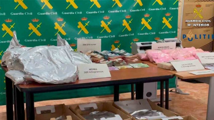 Intervenidos 11 kilos de cocaína rosa a un fugitivo buscado en Holanda