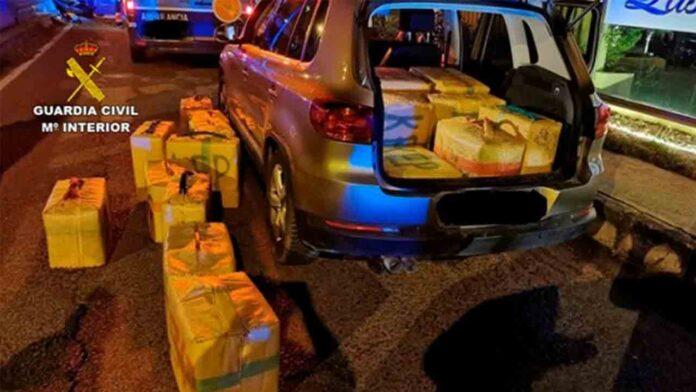 Intervenidos 8.500 kilos de hachís a una organización liderada por 'El Tapi'