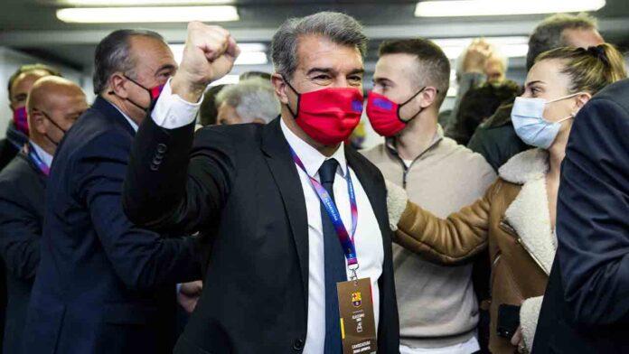 Joan Laporta vuelve al Barça