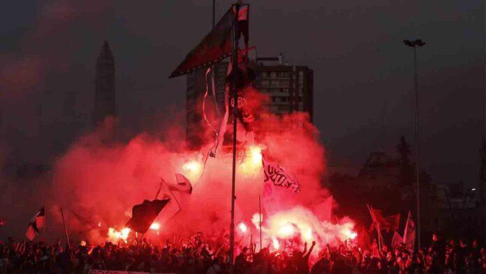 Jornada de represión policial en Chile contra las protestas sociales